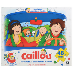 Caillou Caillou Floor Puzzle [48 Pieces - Family Day]