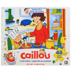 Caillou Caillou Floor Puzzle [48 Pieces - Cooking Fun]