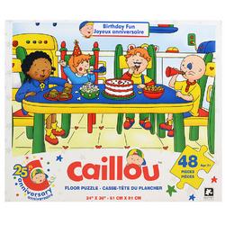 Caillou Caillou Floor Puzzle [48 Pieces - Birthday Fun]