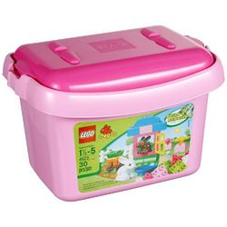 Lego LEGO Duplo Pink Brick Box [4623 - 30 pieces]