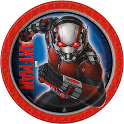 Marvel Ant-Man Marvel Ant Man 9 Inch Lunch Plates [8 per Pack]