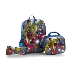 Avengers, The Heys Marvel The Avengers Deluxe 3-Piece Backpack S