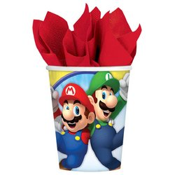 Super Mario Super Mario Bros. 8oz Paper Cups