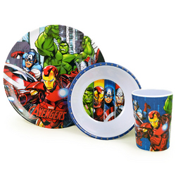 Avengers, The Avengers 3-Piece Meal Time Set