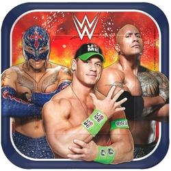 WWE WWE 9 Square Plates [8 per Pack]