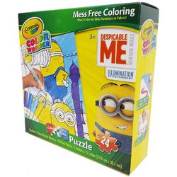 Minions, The Crayola Color Wonder Despicable Me Puzzle [24 Piece
