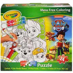 Paw Patrol Crayola Color Wonder Paw Patrol Puzzle [24 Pieces]