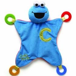 Elmo Gund Baby Sesame Street Activity Blankie [Cookie Monster]