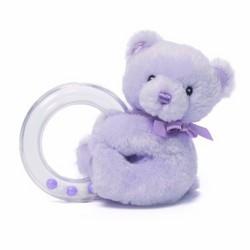 Gund Gund My 1st Teddy Bear Baby Rattle