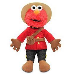 Elmo Gund Sesame Street RCMP Mountie Plush [Elmo]