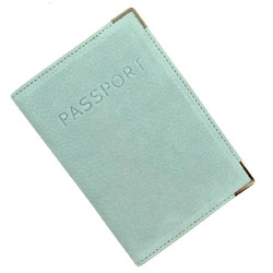 Austin House Austin House Genuine Suede Passport Cover - Green