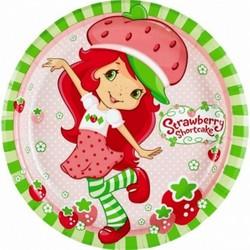 Strawberry Shortcake Strawberry Shortcake Dinner Plates [8 per P