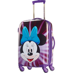 Mickey Mouse American Tourister Disney Minnie Mouse Face Hardsid