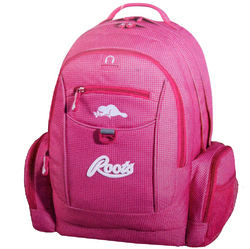 Roots Roots Deluxe Pink Backpack - (Model RTS4251C)