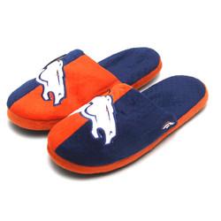Forever Collectibles NFL Denver Broncos Big Logo Slippers [Men's