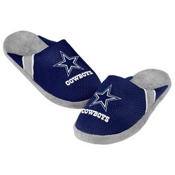 Forever Collectibles NFL Dallas Cowboys Jersey Slippers [Men's X