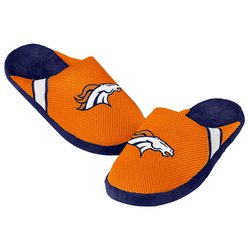 Forever Collectibles NFL Denver Broncos Jersey Slippers [Men's M