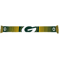 Forever Collectibles NFL Green Bay Packers Big Logo Scarf