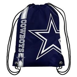 Forever Collectibles NFL Dallas Cowboys Big Logo Drawstring Bag
