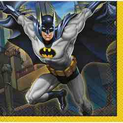 Batman Batman Beverage Napkins [16 Per Pack]