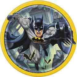 Batman Batman 9 Inch Plates [8 Per Package]