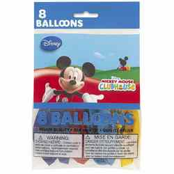 Mickey Mouse Mickey Mouse Clubhouse Party Balloons [8 Per pack]
