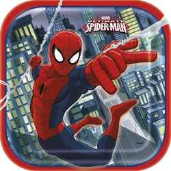 Spider-Man Spider-Man 9 Inch Plates [8 Per Package]