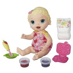 Hasbro Baby Alive Snackin Lily [Blonde]