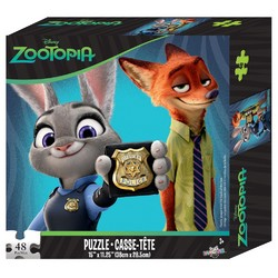 Scooby-Doo Zootopia 48 Piece Puzzle