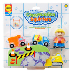 ALEX ALEX Toys Rub a Dub Construction Squirters