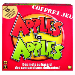 Mattel Apples to Apples [Version Francais]