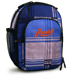 Roots Roots 73 Cooler Bag [Grey and Blue Plaid]