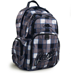Roots Roots 73 Deluxe Backpack [Grey Plaid]