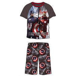 Captain America Captain America Boys' 2-Piece Pajama Set [Size 4