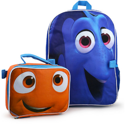 Finding Dory Disney Pixar Finding Dory AND Nemo Deluxe Backpack