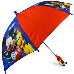 Mickey Mouse Disney Mickey Mouse Kids Umbrella with Molded Handl