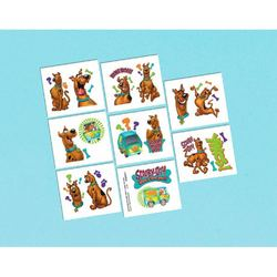 Scooby-Doo Scooby-Doo Tattoo Favors [16 in package]
