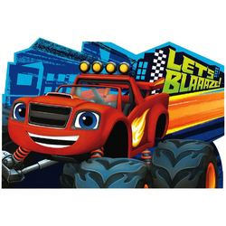 Blaze Blaze and the Monster Machines Postcard Invitations [8 per
