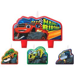 Blaze Blaze and the Monster Machines Birthday Candle Set