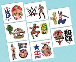 WWE WWE Party Tattoos [16 per pack]