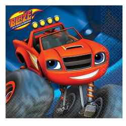 Blaze Blaze and the Monster Machines Beverage Napkins [16 per pa