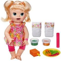Hasbro Baby Alive Snackin Sara [Blonde]