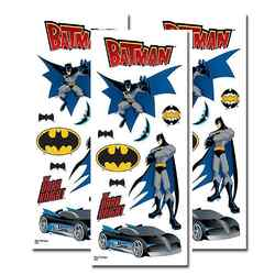 Batman Batman Clear Sticker Set [3 Pack]