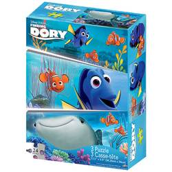 Finding Dory Finding Dory 3-Pack Puzzle [24 pcs ea.]