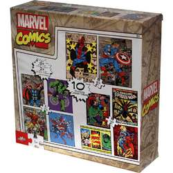 Marvel Heroes Marvel Comics 10-in-1 Puzzle Pack