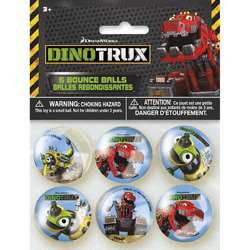 Dinotrux Dinotrux Bounce Balls [6 per Pack]