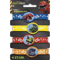 Dinotrux Dinotrux Stretchy Bracelets [4 per Pack]