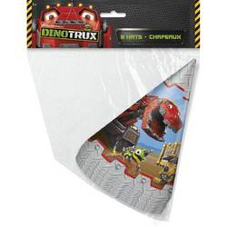 Dinotrux Dinotrux Party Hats [8 per Pack]