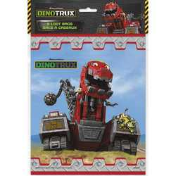 Dinotrux Dinotrux Party Loot Bags [8 per Pack]