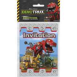 Dinotrux Dinotrux Party Invitations [8 per Pack]